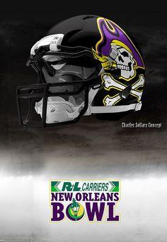 ecu  ragincajun  ull  bowlweek  ecu  pirates Titans Football f641d8f49