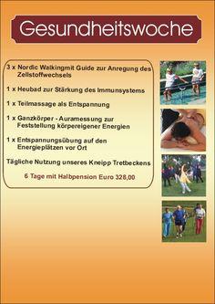 Gesundheitswoche im Bayerischen Wald