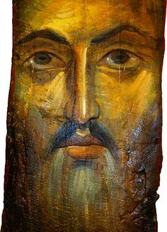 Wonderful Byzantine Pantokrator icon
