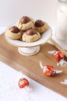 Christmas Chocolate Truffle Cookies - bjl