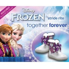 A little #ArcticBlast is no match for #Frozen! Keep your kids toes warm in our new #StrideRite #FrozenBoots! #SHOEDEPTENCORE #meadowbrookmall