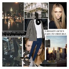 """""It was the possibility of darkness that made the day seem so bright."" ― Stephen King, Wolves of the Calla"" by azomyr20 ❤ liked on Polyvore featuring moda, Blumarine, Sophie Hulme, Elizabeth and James, Theory, Dolce&Gabbana, T By Alexander Wang, Miss Selfridge, rag & bone ve Joie"