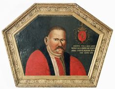 Portret trumienny Jana Metlanta, Jarosław 1703 r. Commonwealth, Coffin, Art Gallery, Bohemian, Polish, History, Clothing, Artwork, Painting