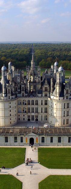 Château de Chambord -Loire Valley   France