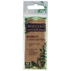 EcoTools, Bamboo Mini Nail Files, 2 Files