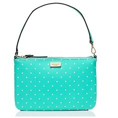 Kate Spade New York Grant Street Grainy Vinyl Small Handbag Wristlet (Fresh Air Creme) -- You can get additional details at the image link.