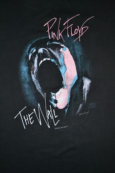Pink Floyd Band | Vintage 1982 PINK FLOYD band The Wall T-shirt