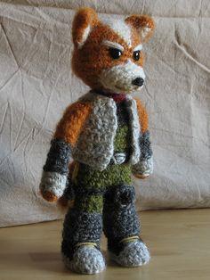 cool looking #amigurumi #fox