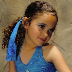 .@madisonpettis | #tbt 2005 Dance recital portrait. Excuse the makeup-it was required lol.