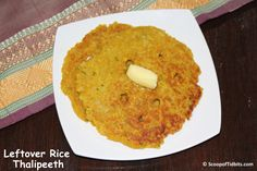 Thalipeeth is a type of Indian bread made widely in Maharashtra by mixing variety of flours like wheat, gram flour, jowari, and so on with finely chopped g