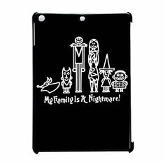 The Nightmare Before Christmas Jack Family iPad Air Case