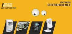 CCTV Cameras for Home monitoring! Keep watch!  #homesecurity #safety #CCTV