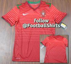 1401b9616 Portugal 2014 World Cup Nike Home Shirt