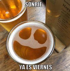 Sonríe ya es VIERNES Viernes de #7days7beers  Comparte con nosotros tus cervezas con el hashtag y gana el sorteo de Solo Artesanas