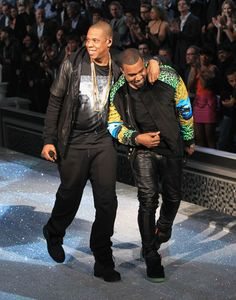 Kanye & Jay-Z. Bromance
