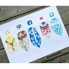 Sosyal medya saç şekilleri
