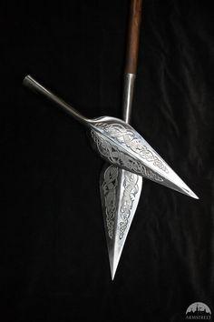 Fer de lance viking en acier inoxydable par ArmStreet