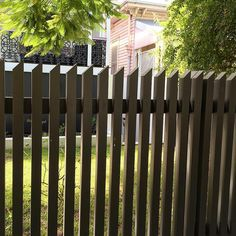 Loving this LOSP vertical slat fence with angled top cut. Always good to think outside the box when designing and implementing fence detail. Outdoor Fencing, Timber Fencing, Small Garden Design, Fence Panels, Thinking Outside The Box, Small Gardens, Home Improvement Projects, Landscape Design, The Outsiders