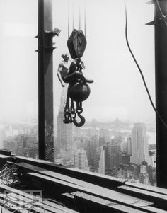 "#Construction on #Pinterest  ""Empire State Building: Made by Hand"""