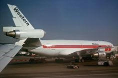 N901WA Douglas DC-10-10 Western Airlines MIA 07MAR81