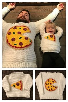 Pizza Pie Sweater fo