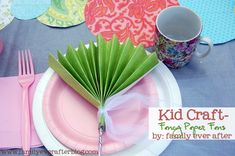 Family Ever After....: DIY Tea Party Decorations