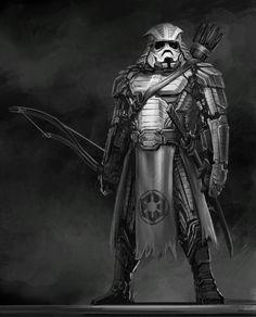 サムライ風にリデザインされた「スター・ウォーズ」のキャラクター達 - DNA