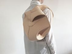 Bag. Leather. Seam. Architecture. Design. Ideas. Object