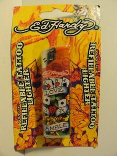 Ed Hardy Refillable Tattoo Lighter ** Want additional info? Click on the image.(This is an Amazon affiliate link and I receive a commission for the sales)
