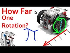 How Far Does an EV3 Robot Drive in One Rotation? - YouTube