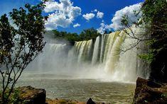 Para chegar a belíssima Cachoeira de São Romão, a 70 km de Carolina (MA), é preciso um carro de tração 4x4. Foto: Flickr/deltafrut