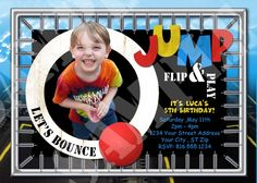 trampoline park party decor ideas - Google Search