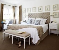 Great value bedroom furniture packages with Hamptons & French provincial style bedroom furniture. View our curated bedroom furniture packages online today. Home Bedroom, Bedroom Decor, Bedroom Ideas, Master Bedroom, Design Bedroom, Dream Bedroom, Modern Bedroom, Master Suite, Bedroom Furniture