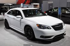 2013.5 Chrysler 200 S Special Edition - white - live from 2013 New York Auto Show floor