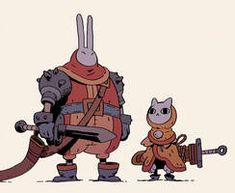 Rabbit And Cat by Varguy - My best design list Male Character, Character Design Cartoon, Character Design Animation, Character Creation, Character Design References, Character Drawing, Character Design Inspiration, Character Illustration, Character Concept