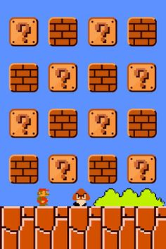 Super Mario Bros - iPhone 4 Wallpaper - Pocket Walls :: HD iPhone Wallpapers