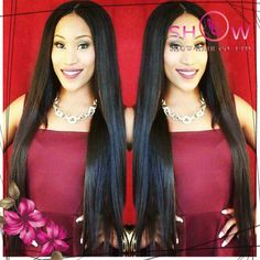 top quality Virgin Brazilian hair straight 26 inch Swiss Glueless full lace wig/Lace front wigs 150% Density Free Shipping $139.80 - 308.80