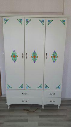 Gardolap (el boyaması) / wardrobe ( hand painting )