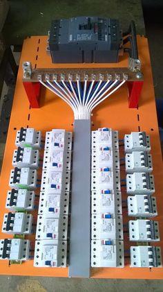 لوحة تبديل مودلة كهرباء