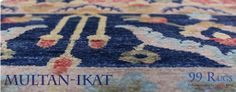 A unique style of ikats at 99rugs i,e Multan Ikats. Find the best out of collection of awesome #rugs #awesome #carpets #ikats #MultanIkats #99Rugs