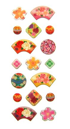 Beautiful Japanese Stickers Cherry Blossoms by FromJapanWithLove, $6.50