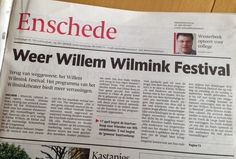 Voor in de agenda: Wilminkfestival!