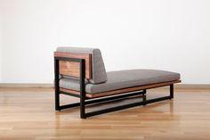 Welded Furniture, Industrial Design Furniture, Leather Furniture, Metal Furniture, Sofa Furniture, Furniture Design, Daybed Design, Bed Frame Design, Chair Design
