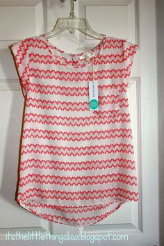 cute chevron type print. Perfect for a spring day teaching in my classroom.