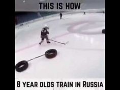This is how 8 year olds train in Russia Hockey Workouts, Agility Workouts, Hockey Drills, Hockey Mom, Ice Hockey, Hockey Stuff, Hockey Boards, Hockey Training, Hockey Quotes