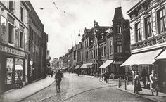 Saroleastraat Heerlen ca 1935. Bron: http://www.rijckheyt.nl/ C:Bollen & Cuypers, Heerlen