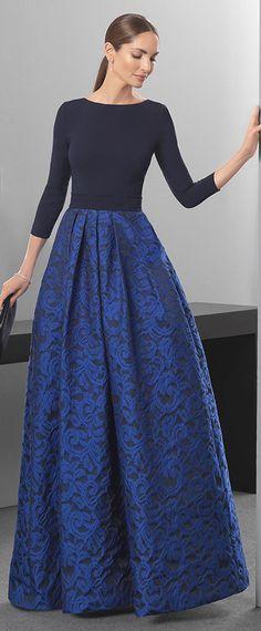 Graceful Spandex & Lace Bateau Neckline A-Line Evening Dresses