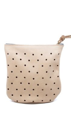 This handmade Punched Pouch is to die for.