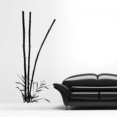 www.stickurz.com, Bamboo, Flowers, Tree, Sticker, Design, Decoration, Wall Decal, wall tattoo