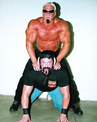 i can't tell if that is Buff or Rick Steiner with Scott